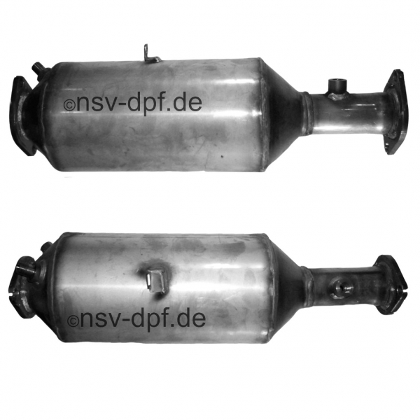 Volvo S40 TDi / V50 TDi 2.0l / 100 KW Dieselpartikelfilter