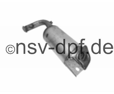 Renault Trafic DCi 2.5l / 84 - 107 KW Dieselpartikelfilter