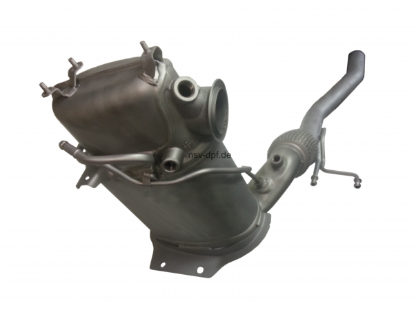 VW Caddy Touran 2,0 TDI Dieselpartikelfilter