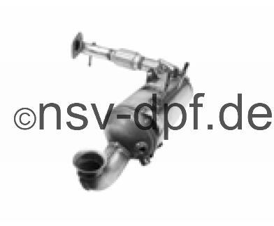 Ford Fiesta TDCi 1.6l / 70 KW Dieselpartikelfilter