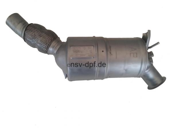 BMW 118d / 120d Dieselpartikelfilter