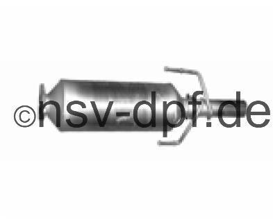 Opel Astra H GTC 1.3l / 52 KW Dieselpartikelfilter