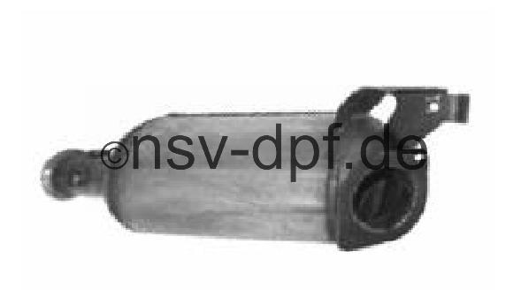 Renault Master DCi 2.2l - 2.5l / 66 - 73 - 74 - 84 - 85 KW Dieselpartikelfilter