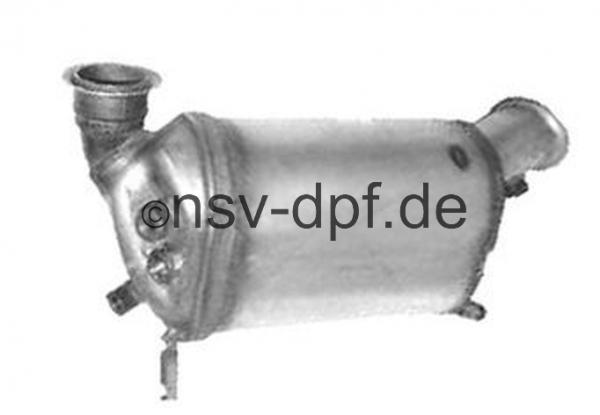 VW Transporter 4x4 2.5l / 96 - 129 KW Dieselpartikelfilter