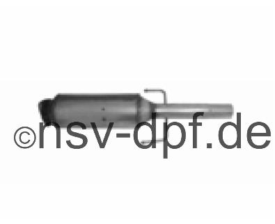 Ford KA 1.3l / 55 KW Dieselpartikelfilter