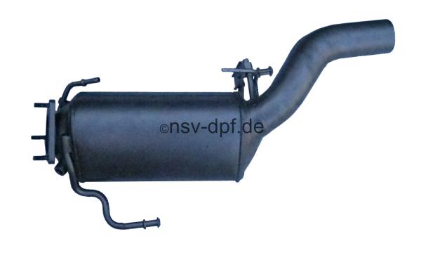 Dieselpartikelfilter VW 7L6.131.709.L 5,0TDI V10 links