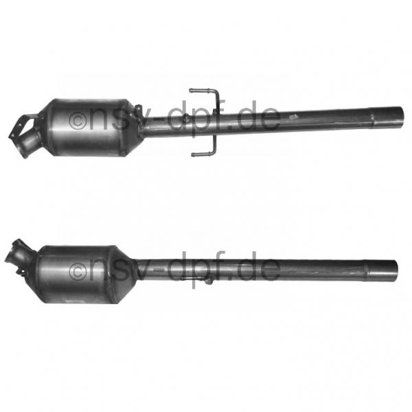 MB Viano CDI / Vito CDI 2.0l - 2.2l / 85 - 110 KW 2.2l / 70 - 85 -110 KW Dieselpartikelfilter