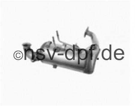 Ford Focus TDCi 1.6l / 66 KW Dieselpartikelfilter