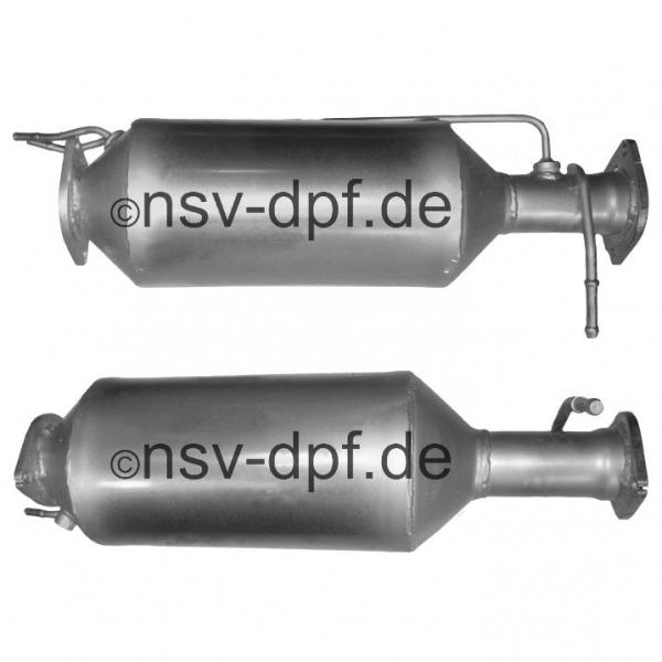 Ford Galaxy TDCi / S-Max TDCi 2.0l / 105 KW Dieselpartikelfilter