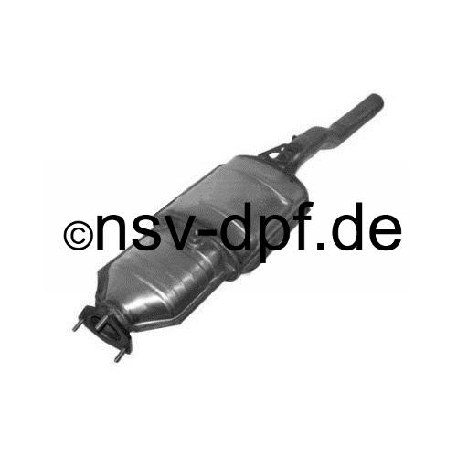 Audi A8 3.0l / 174 KW Dieselpartikelfilter