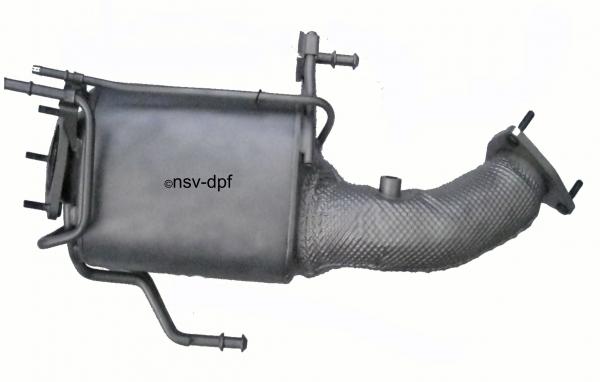VW Touareg, Bj 2008-2010 Dieselpartikelfilter