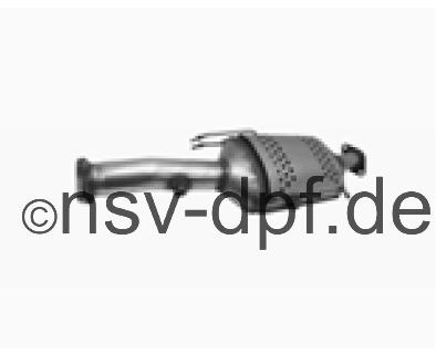 Ford KUGA TDCi 2.0l / 100 KW Dieselpartikelfilter