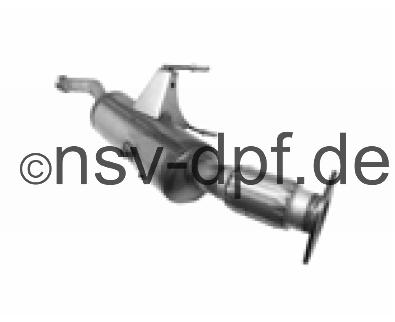 Opel Movano DTi 2.3l / 92 KW Dieselpartikelfilter