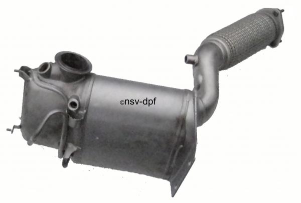 VW Sharan 2,0 TDI Dieselpartikelfilter DPF